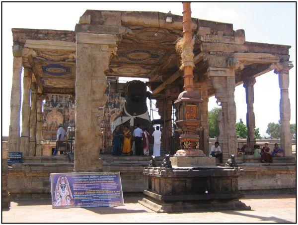 Nandhi in Thanjavur Big Temple