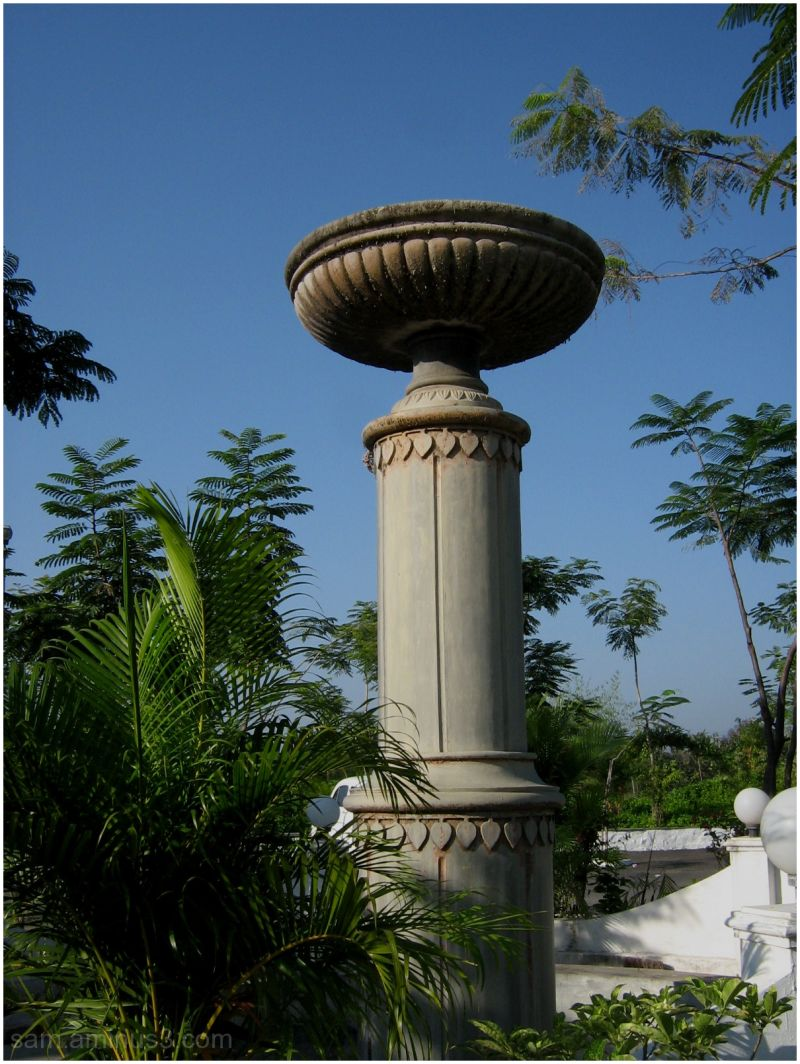 Fountain in GST Highway Park