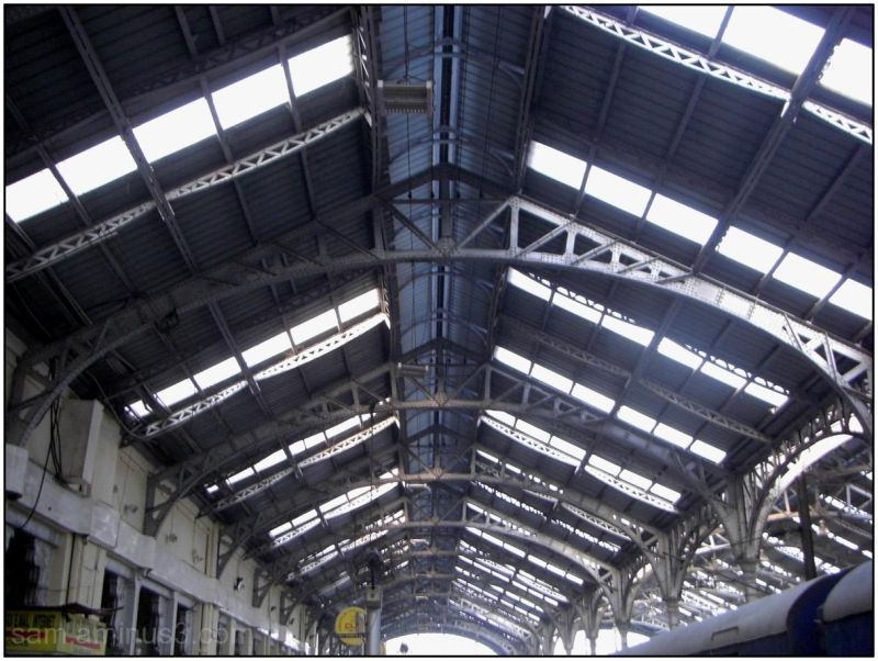 Egmore railway station roof