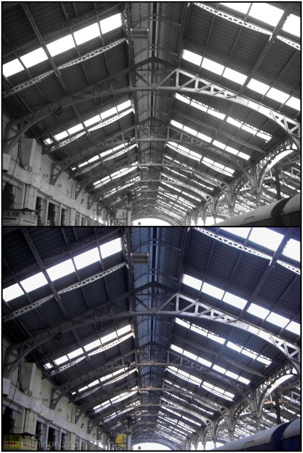 Egmore Station Roof