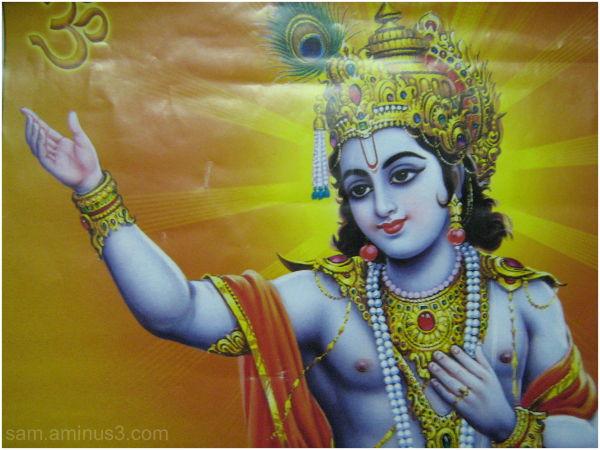 Lord Krishna Bhagvad Gita