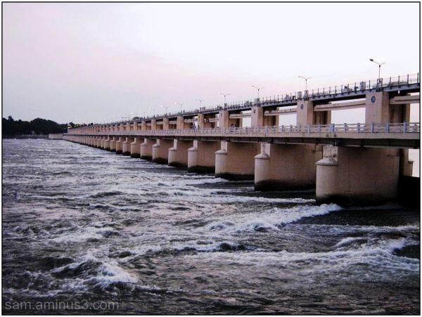 River Kavery at Mukkombu