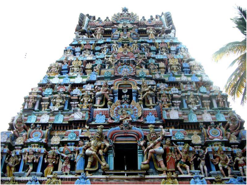 Thiruppungur Temple Gopuram