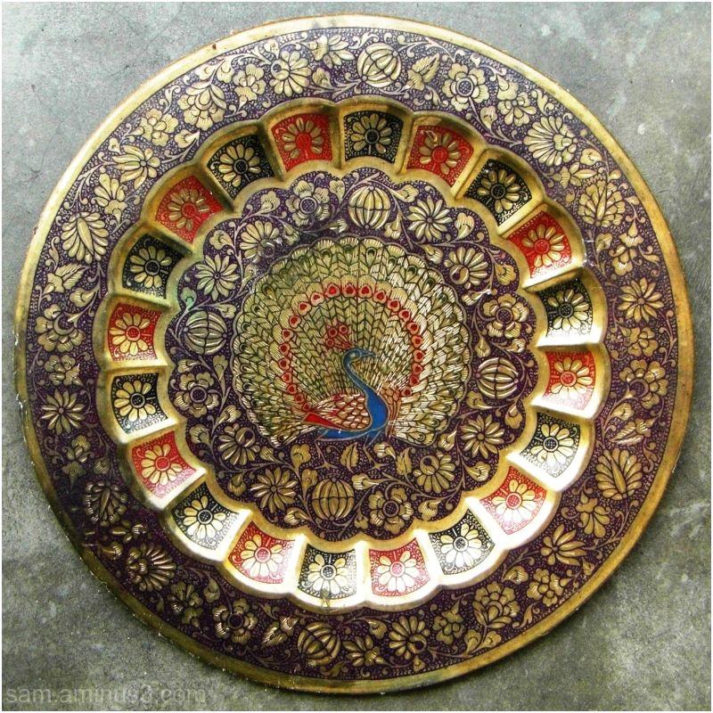 Thanjavur Brass Plate