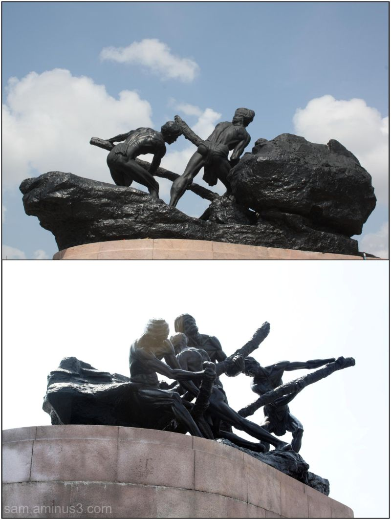 May Day Triumph of Labour Statue