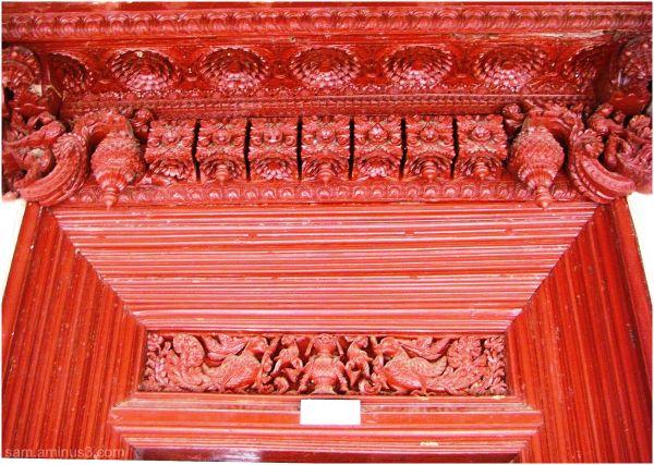 Entrance Door Ornamental wood work