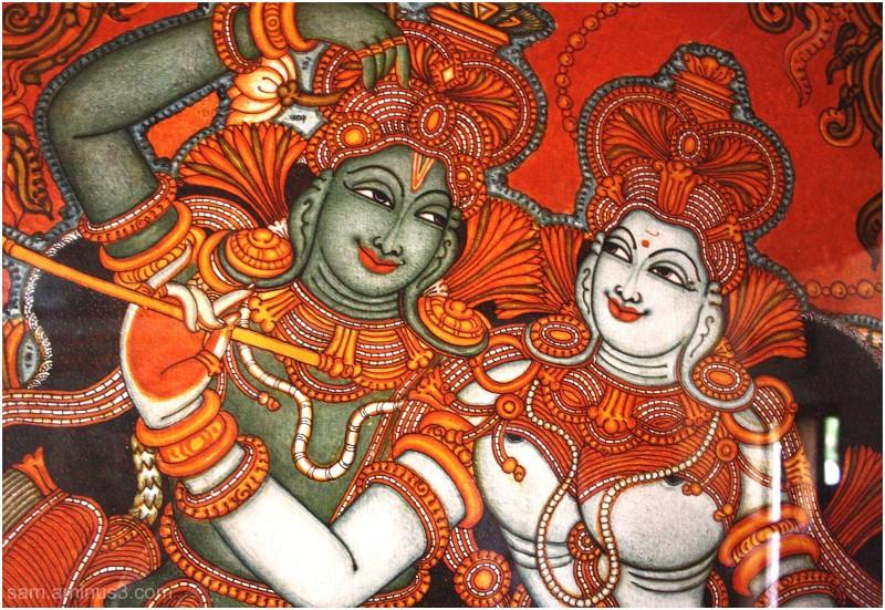Dakshina Chitra Painting