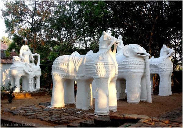 Ayyanar Temple Dakshina Chitra