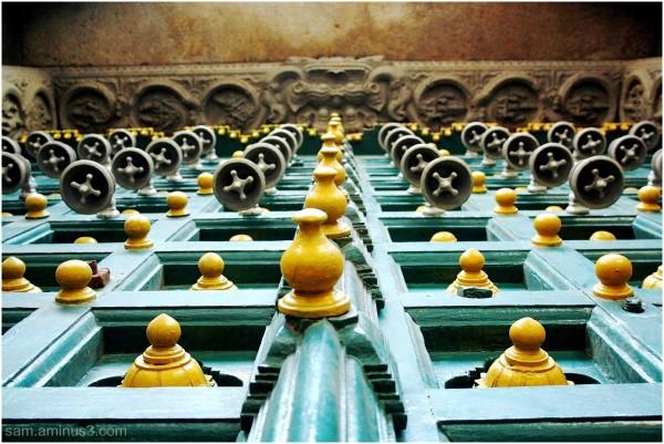 Mylapore Temple Main Entrance Door