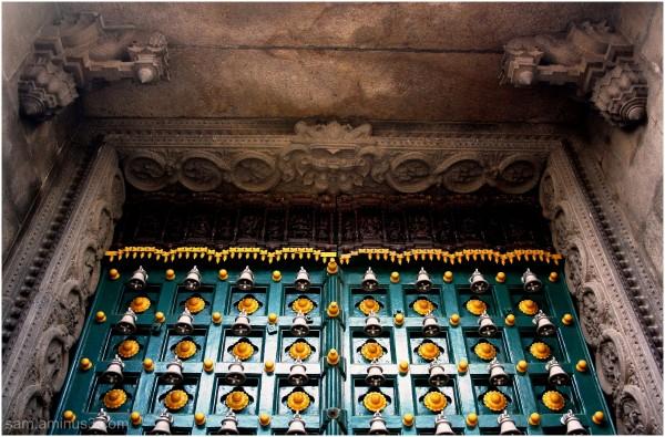 Mylapore Temple Main Entrance