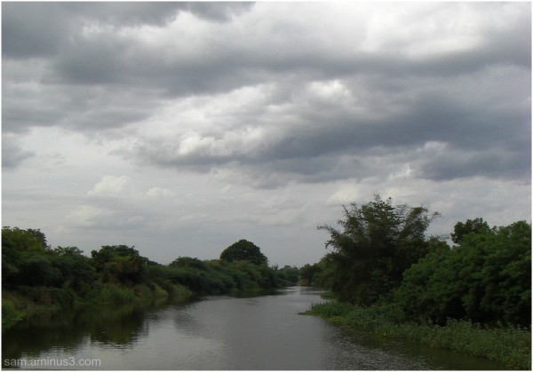 Pazhavar River near our village