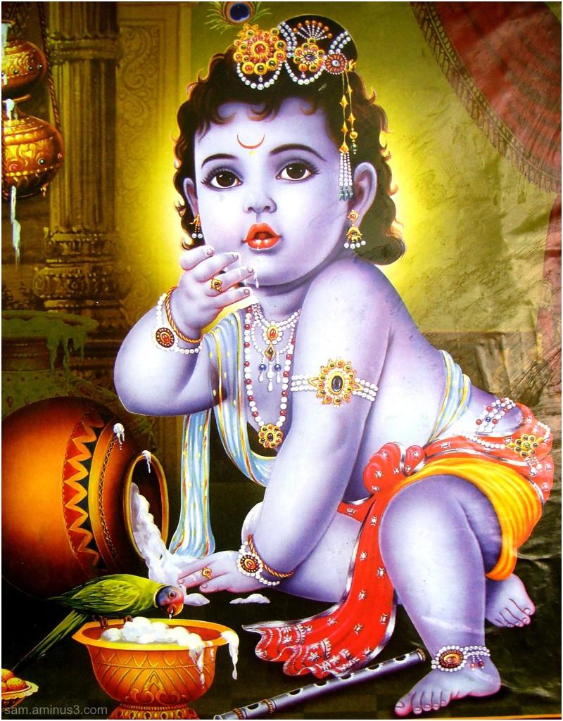 Child Krishna