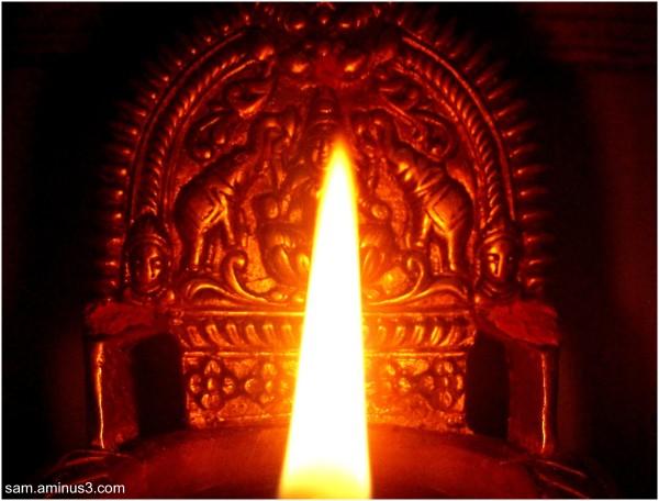 Light form Brass Lamp