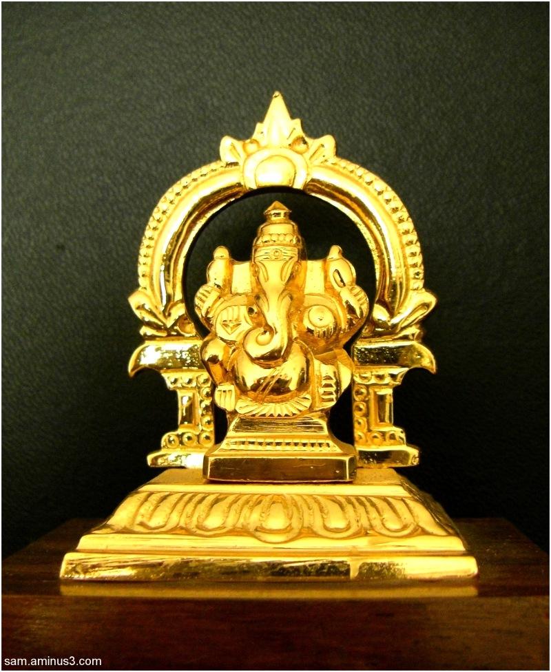 Brass image Ganesha