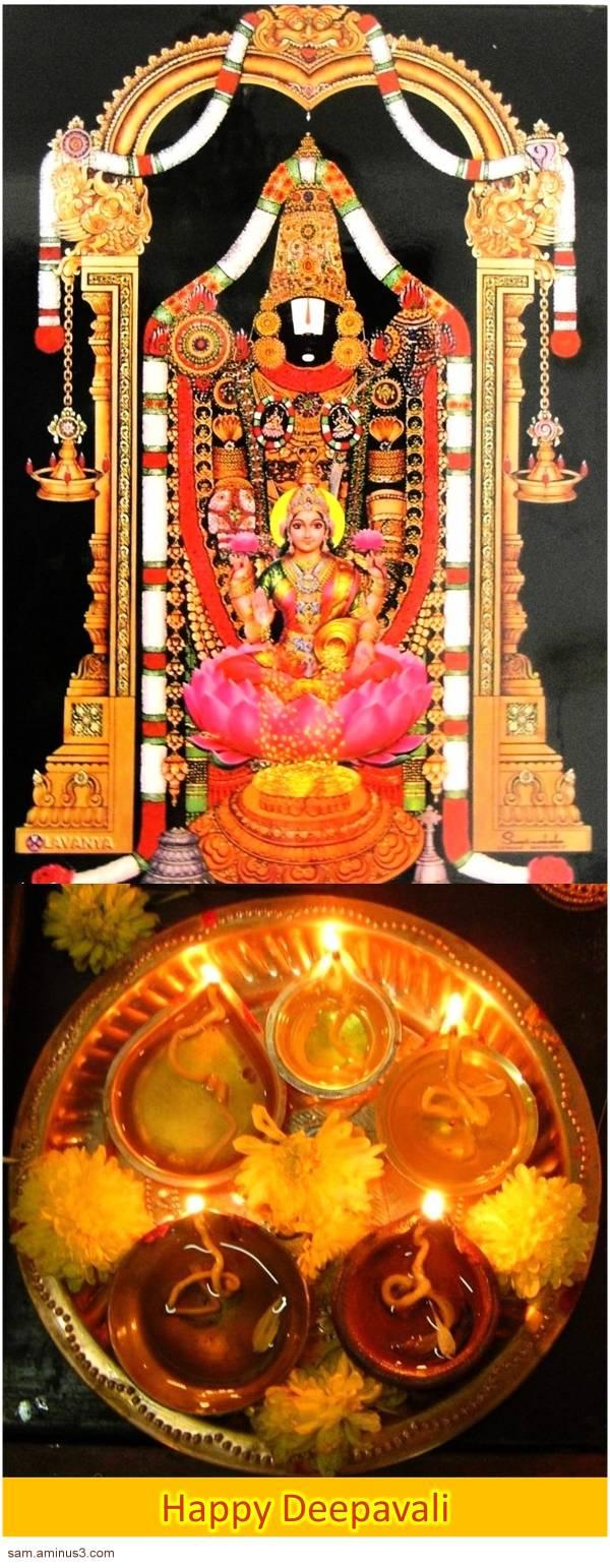 Deepavali Lord Balaji