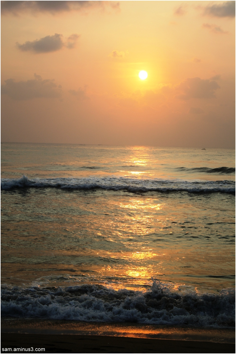 Sunrise Marina Beach Chennai