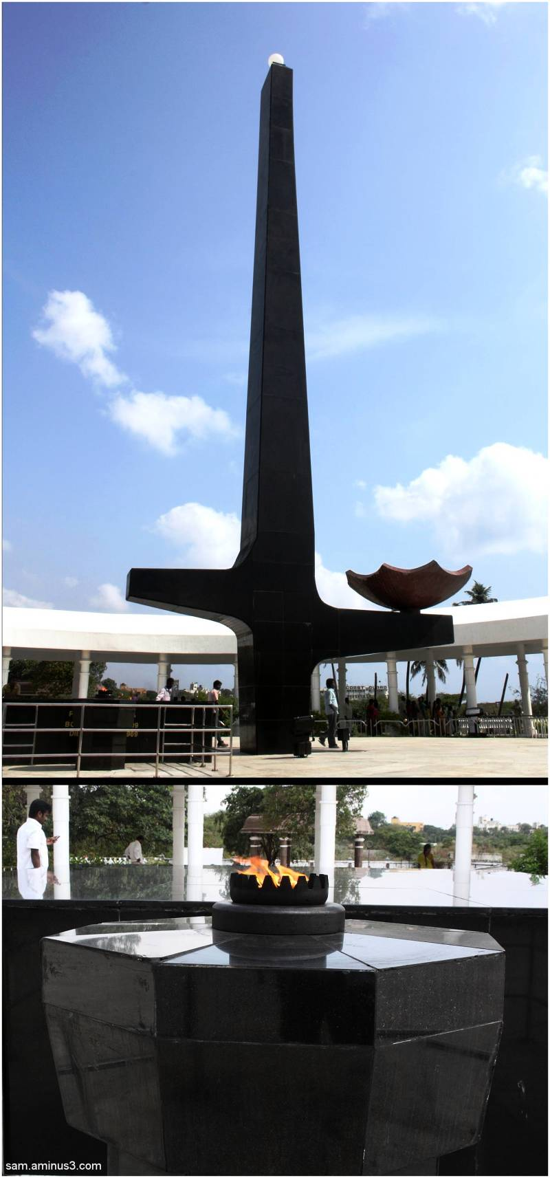 Anna Memorial Marina Chennai