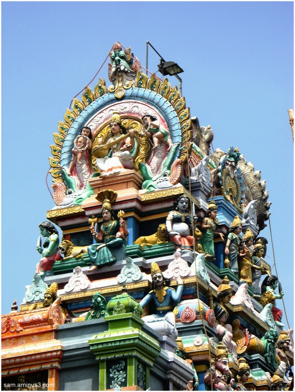 A Small Amman Temple