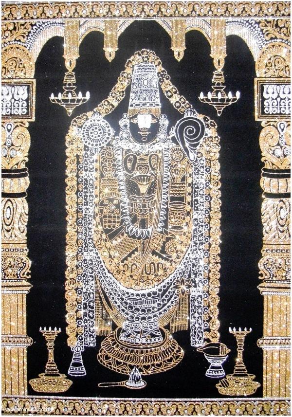 Lord Balaji Silk artwork