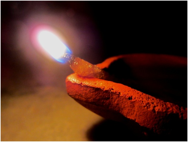 Clay Lamp - Deepam