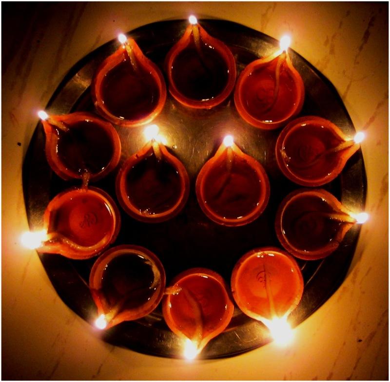 Clay lamps - Karthikai Deepam
