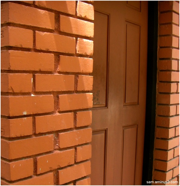 Brick Wall and Door