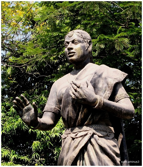 Statue near Loyola College