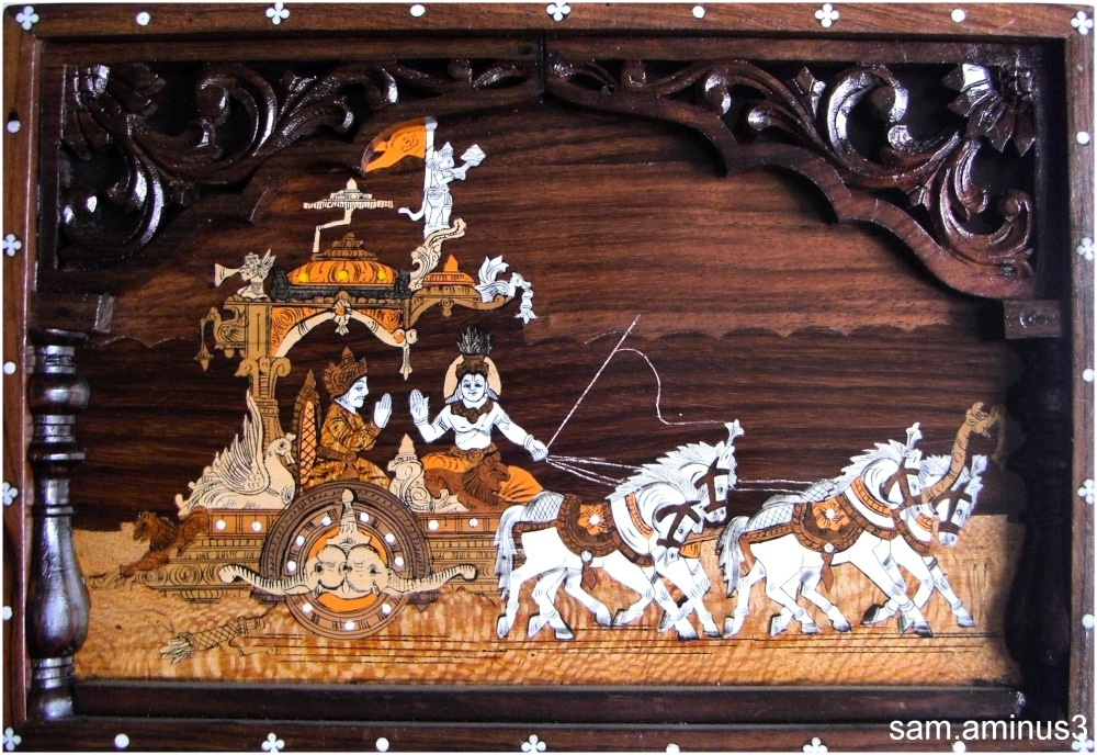 Art work in Wood