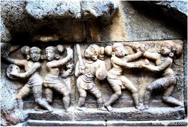 Darasuram Temple - Stone Carvings