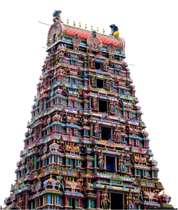 Temple Gopuram Chennai