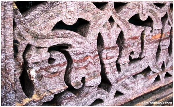 Artwork in stone