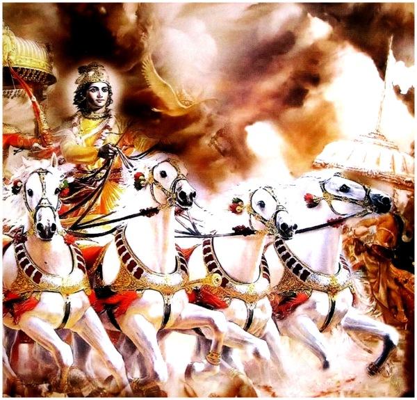 Scene from Mahabaratham