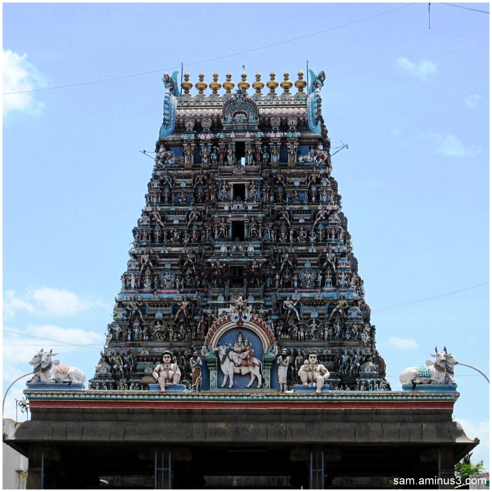 Mylapore Temple Gopuram