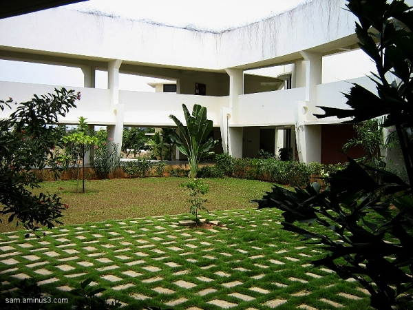 Landscaped Courtyard CMI
