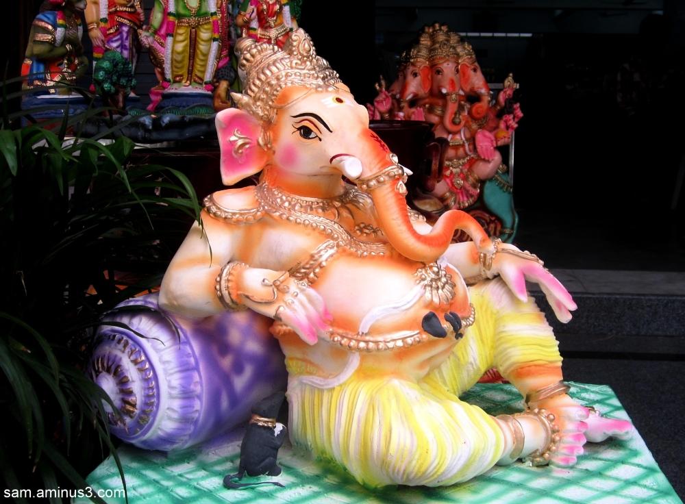 Colourful Dolls - Ganesha