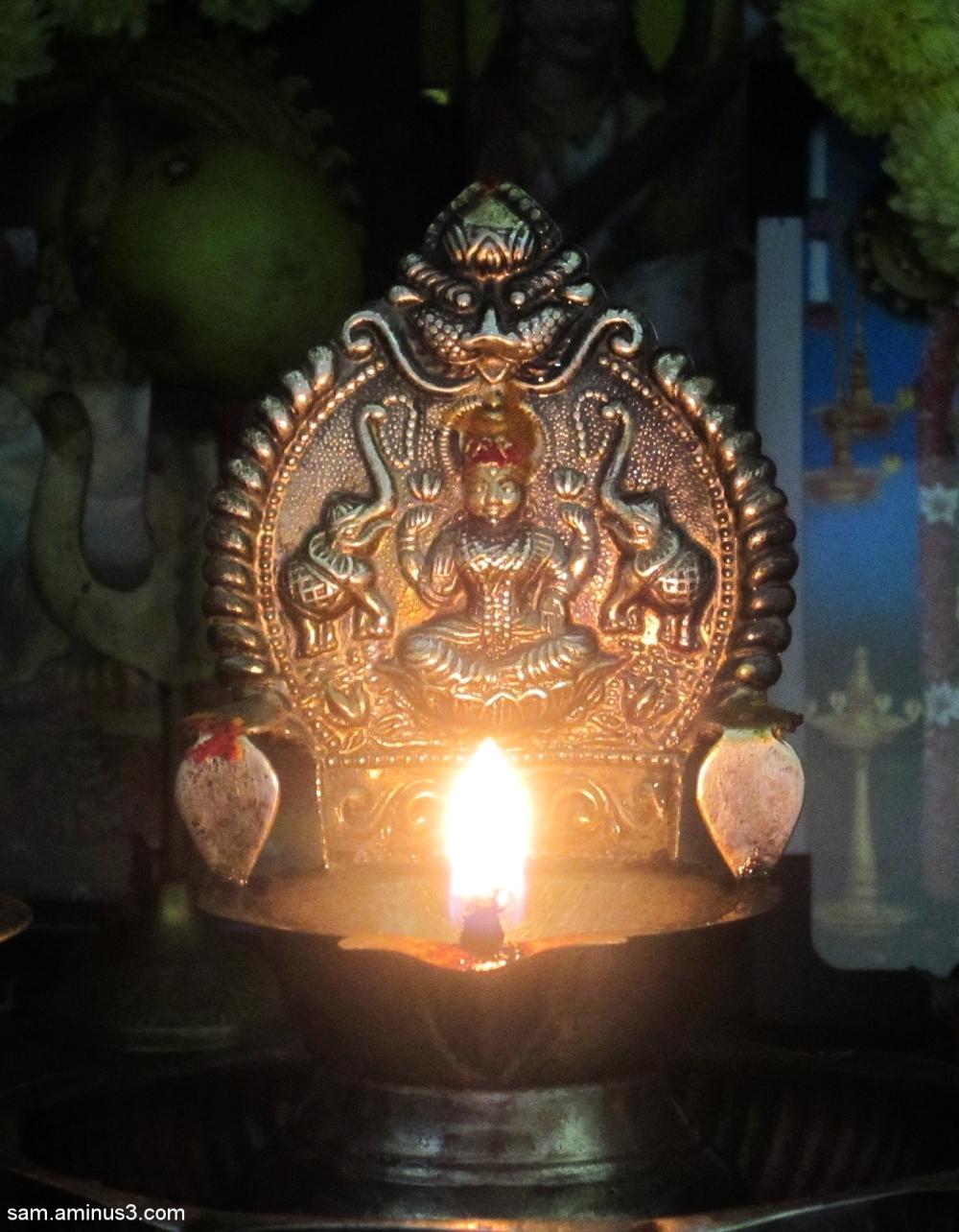 Lamp in Prayer room