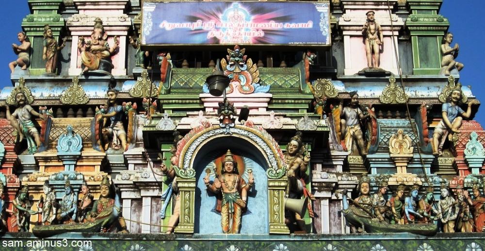 Temple Gopuram Details