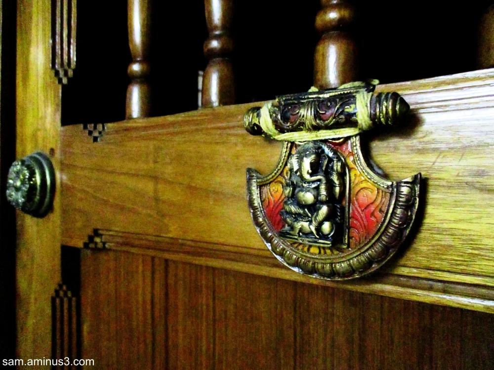 Puja Room Door