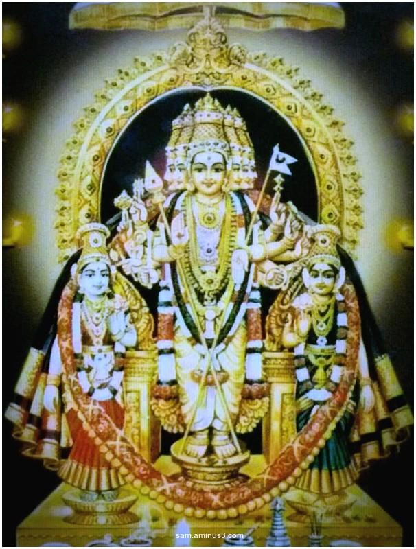 Lord Kalyana Shanmugar