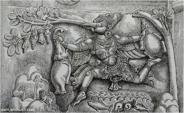 Sculpture - Garudan