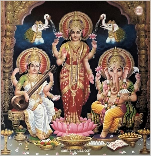 Saraswathi Lakshmi Ganesha