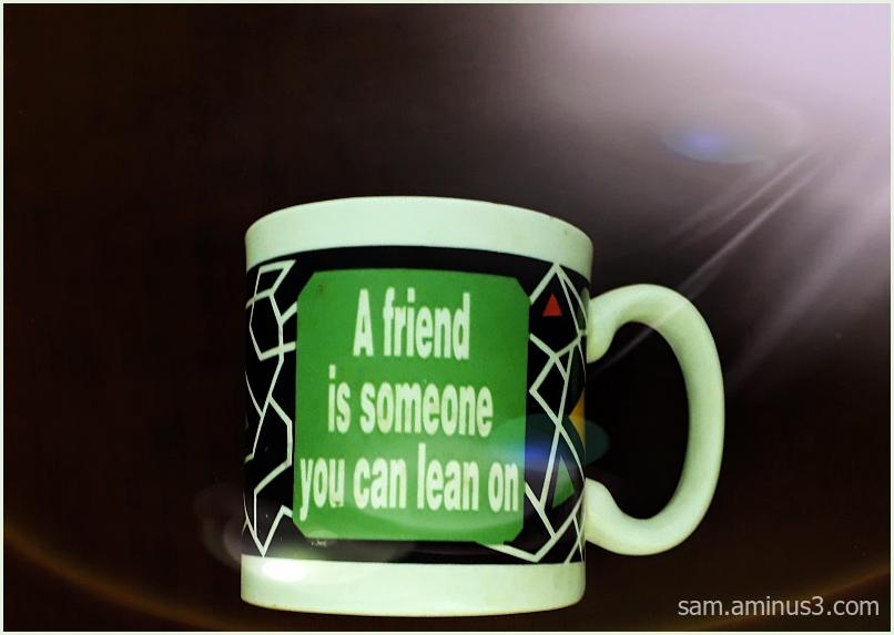 A Friend is  ...
