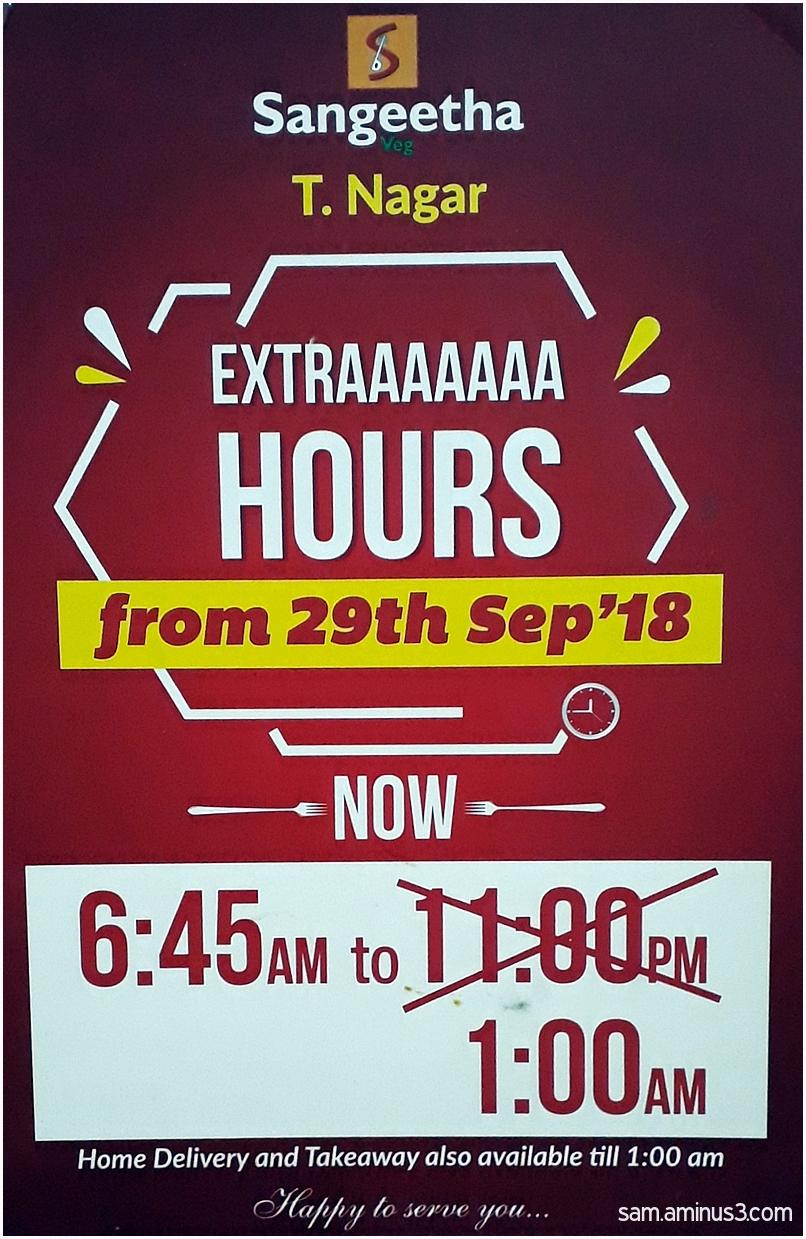 Extraaaa Hours
