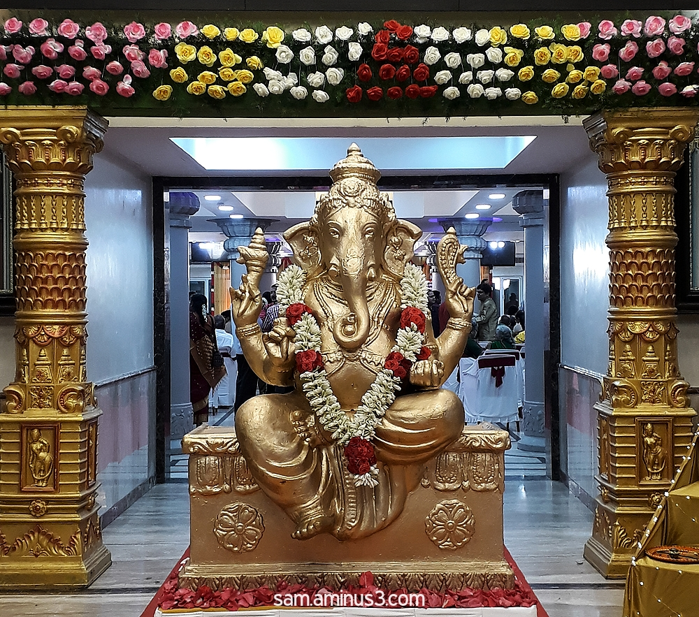 Ganesha at the Wedding hall