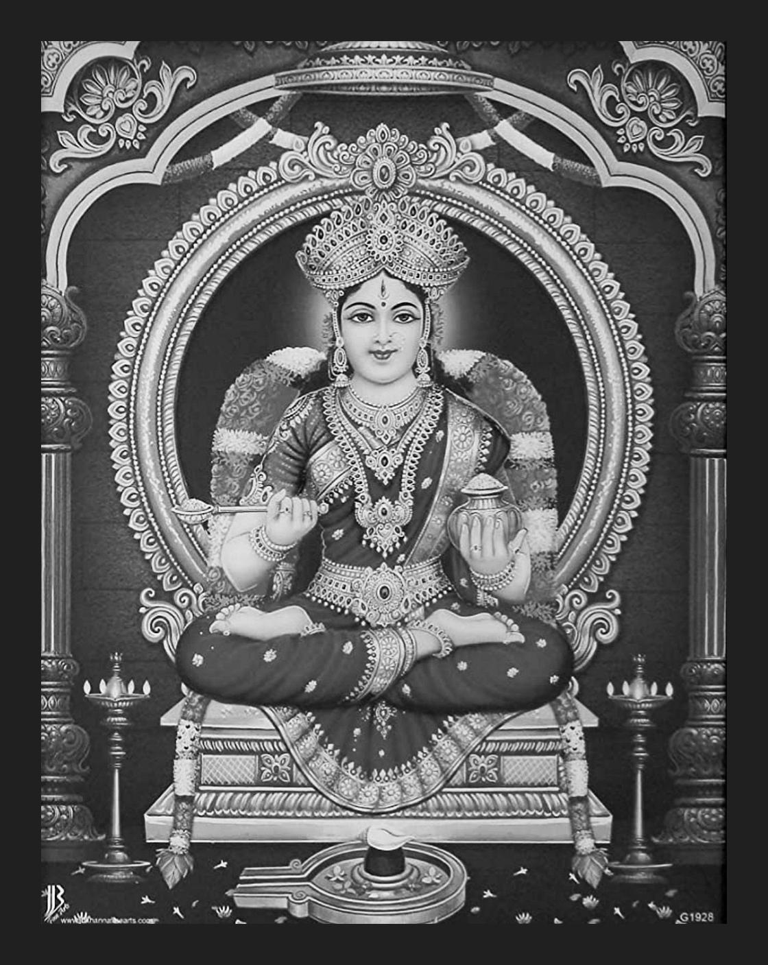 Goddess Annapoorani