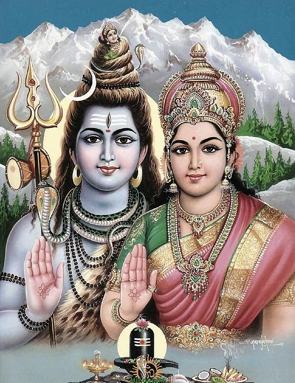 Shiva - Parvathi