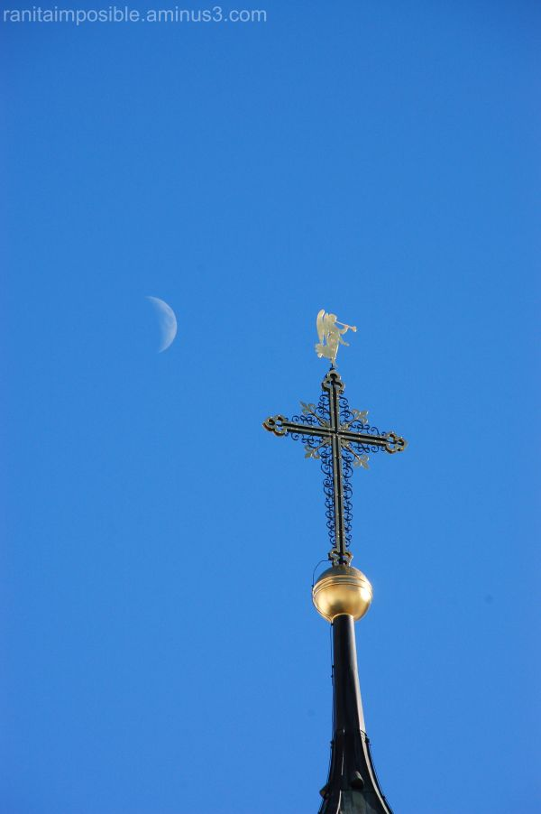 The Moon and the Cross
