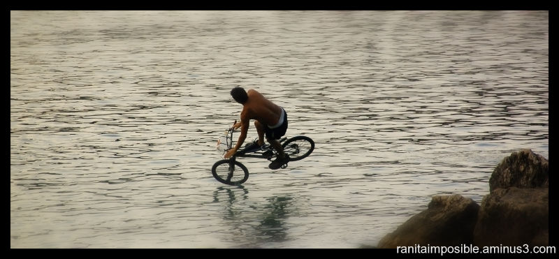 Cycling over the Water