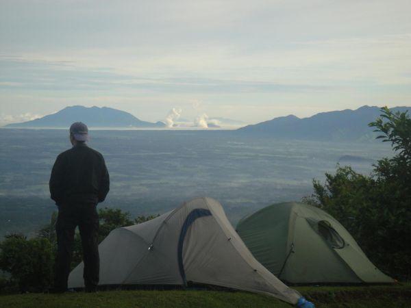 Topview mountain