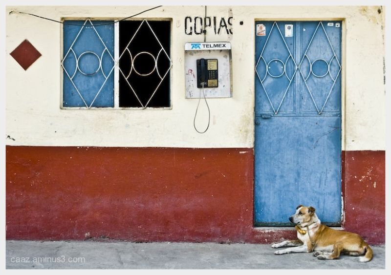 Image of the village of Suchitlan, Colima, Mexico